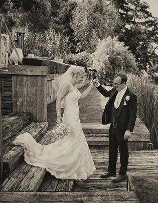 Talbooth Wedding